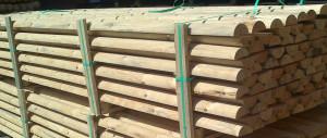 Dysponujemy suszarnią do drewna i urządzeniami do ciśnieniowej impregnacji.